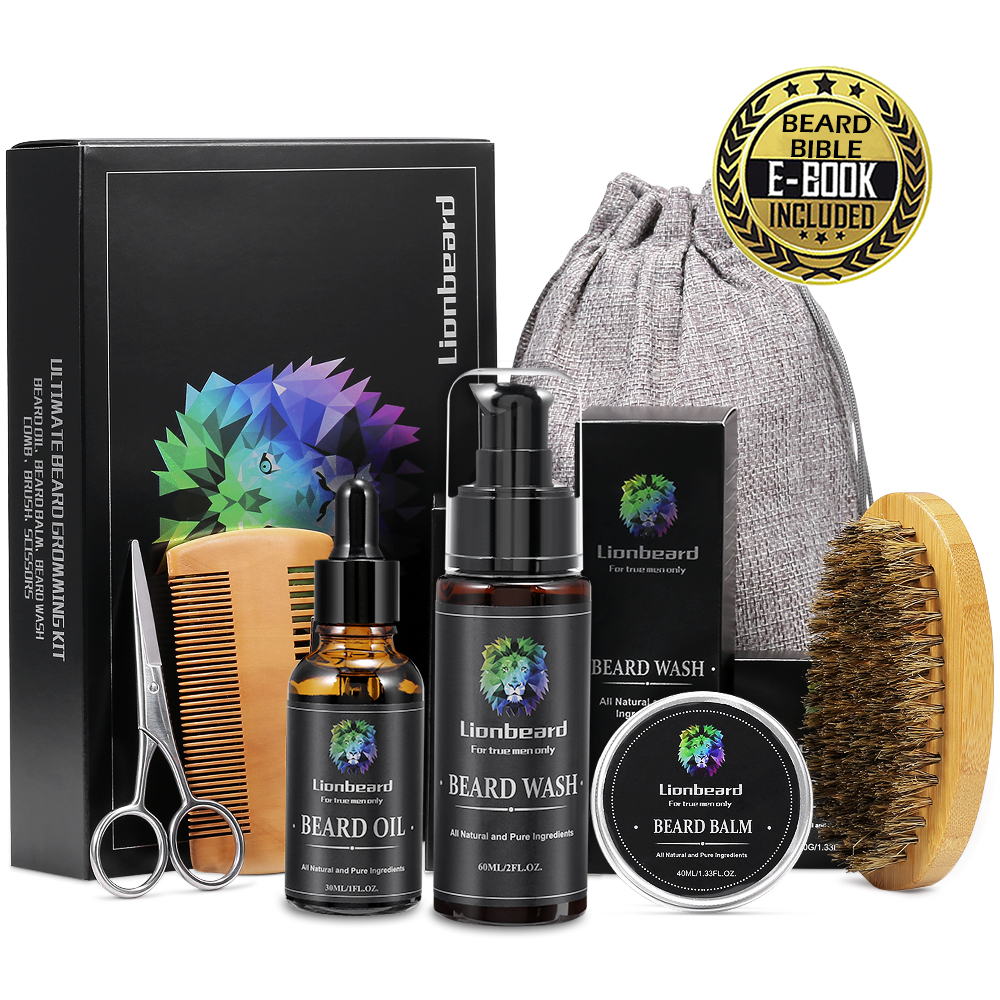 Isner Mile Lion Beard Grooming Kit 1