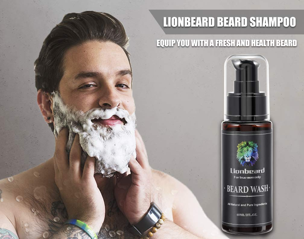 Isner Mile Lion Beard Wash