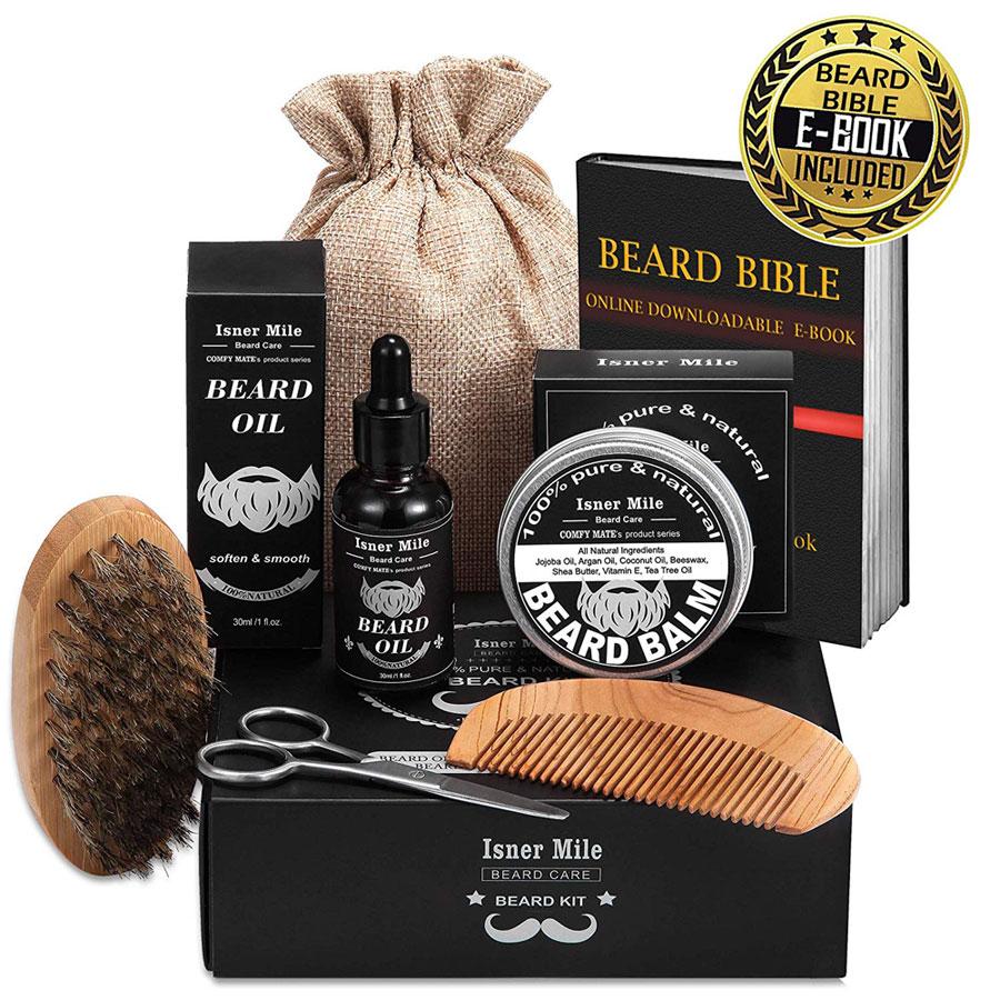Isner Mile Beard Oil Kit