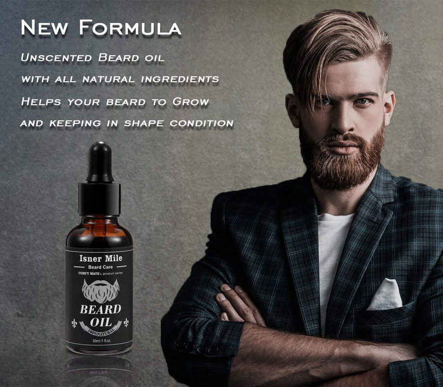 Isner Mile New Formula Beard Oil