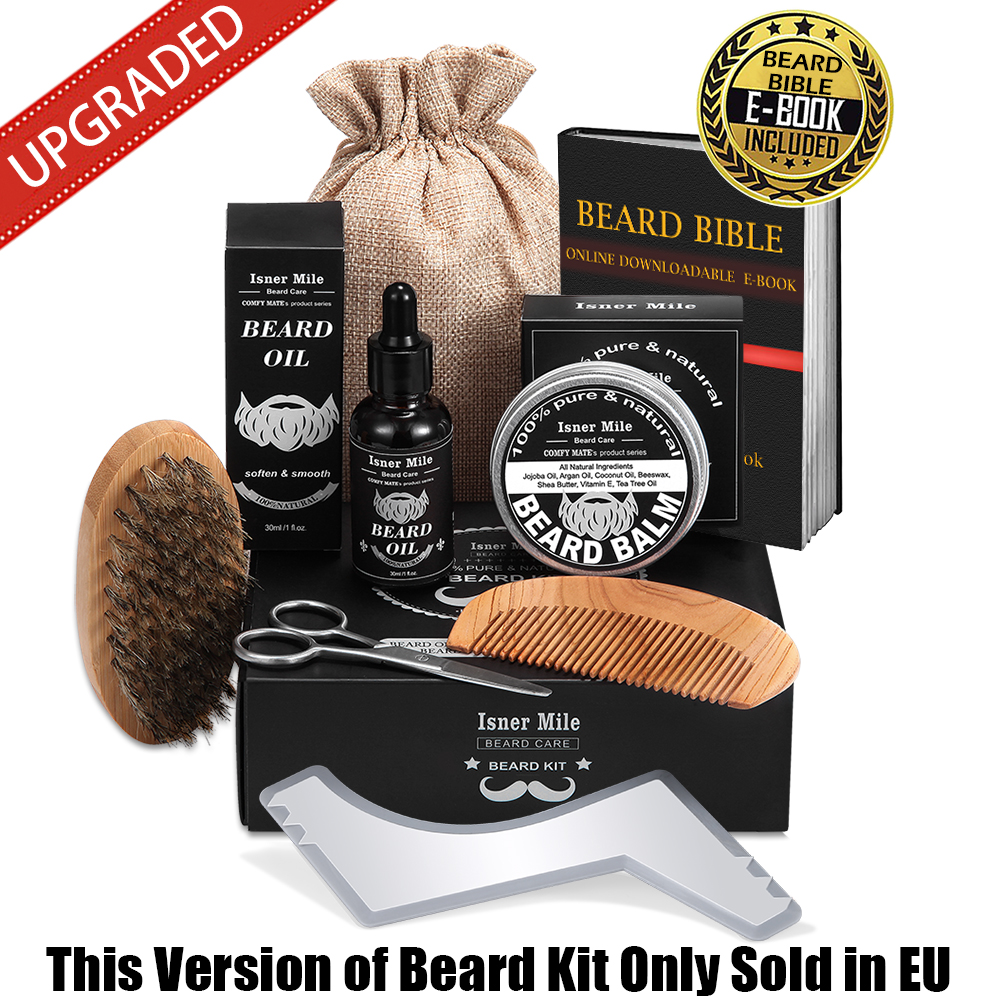 Isner Mile New Beard Grooming Kit (EU) 2