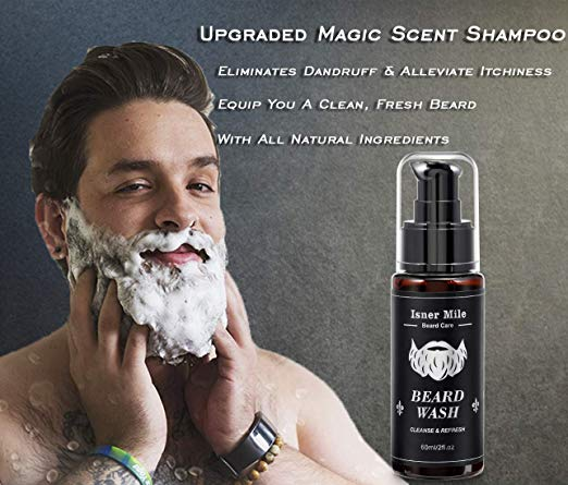 Isner Mile Beard wash
